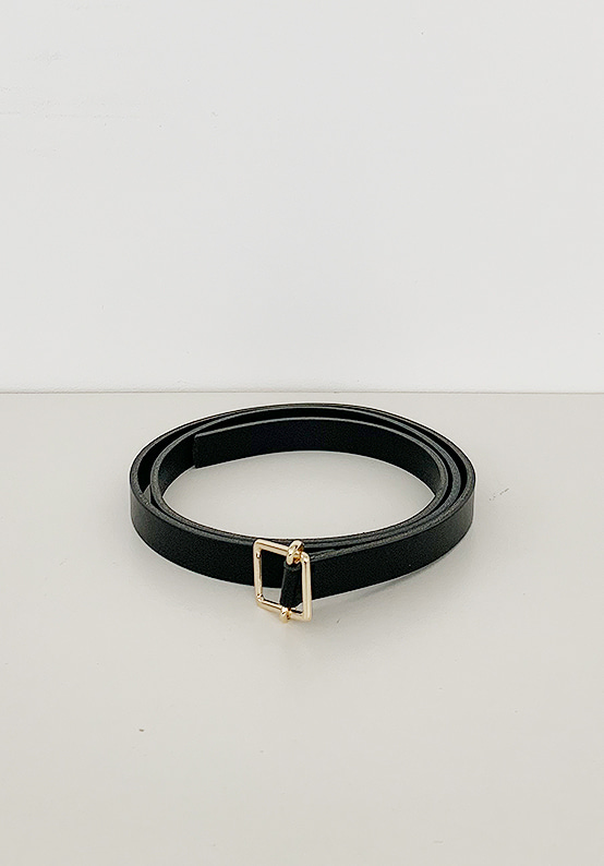 slim layered belt